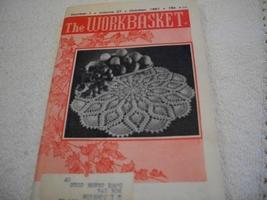 Workbasket Magazine October 1961 - $5.00