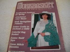 Workbasket Magazine April 1987 - $3.00