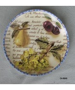 Two Formalities by Baum Bros Eden Collection Decorative Plates Seth Adan - $25.99