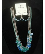 Van Heusen Chunky Cluster Necklace  and Earrings NWT - $14.99
