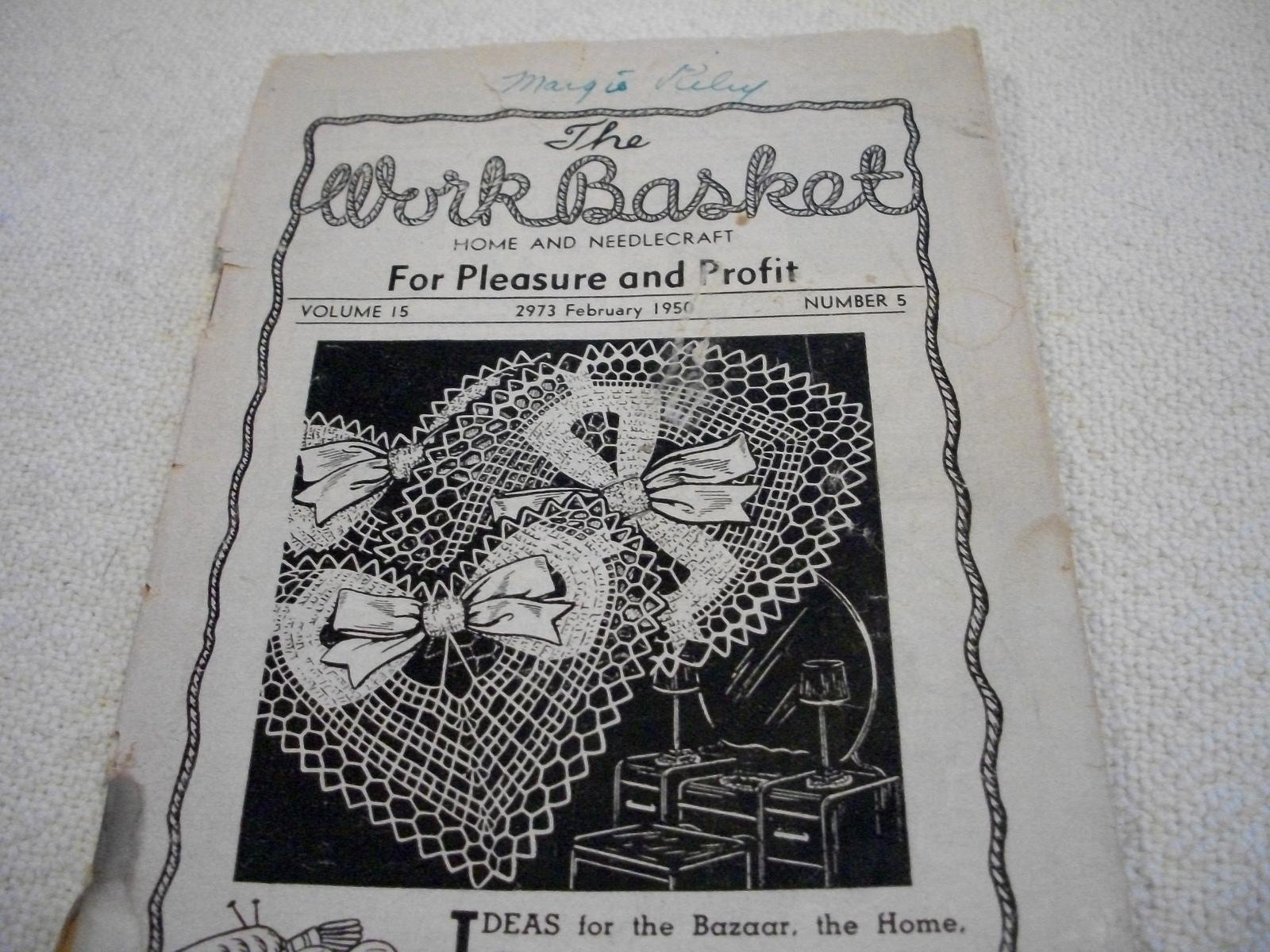 Workbasket Magazine February 1950 and 11 similar items