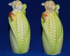 Corn Cob Salt and Pepper Shakers  JAPAN - $14.99