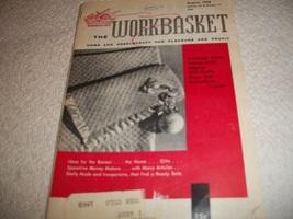 Workbasket Magazine August 1958 - $5.00