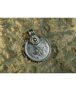 HIGH CLASS KHODAM DJINN ANTIQUE MONEY COIN PENDANT FLOW OF WEALTH haunted  - $155.00