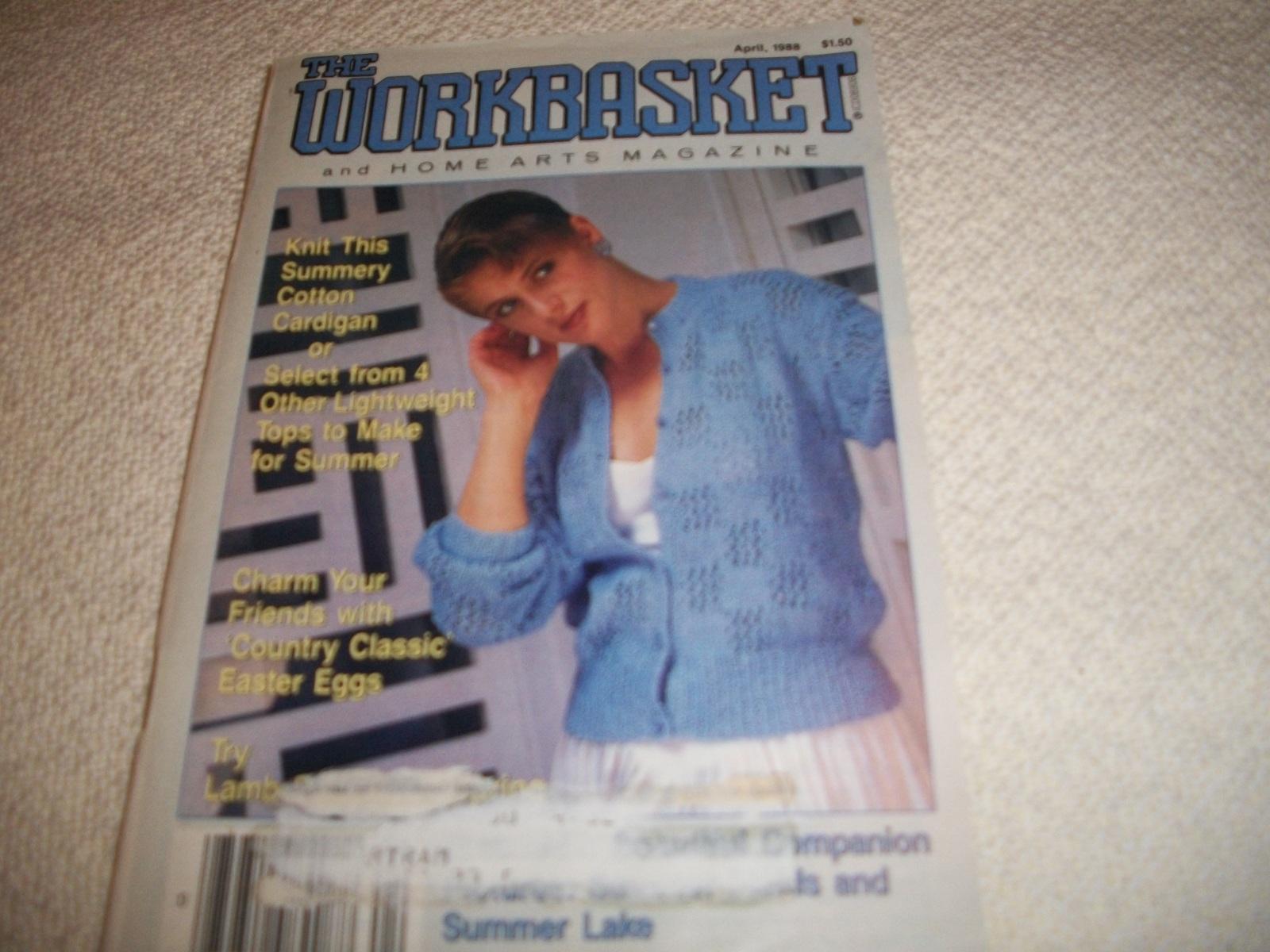 Workbasket Magazine April 1988 - $5.00