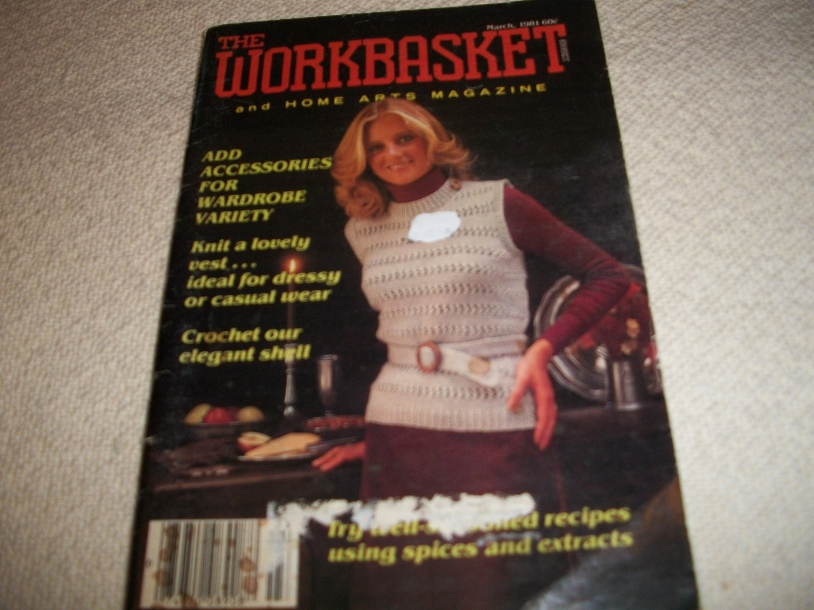 Workbasket Magazine March 1981 and 19 similar items