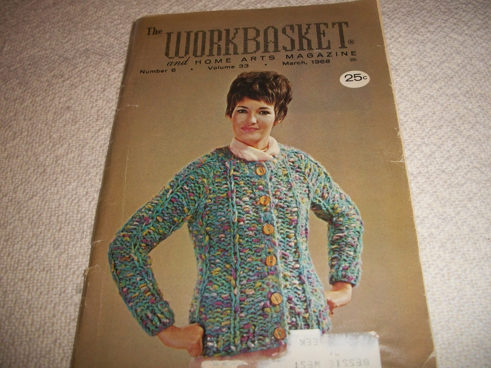 Workbasket Magazine March 1968 and 50 similar items