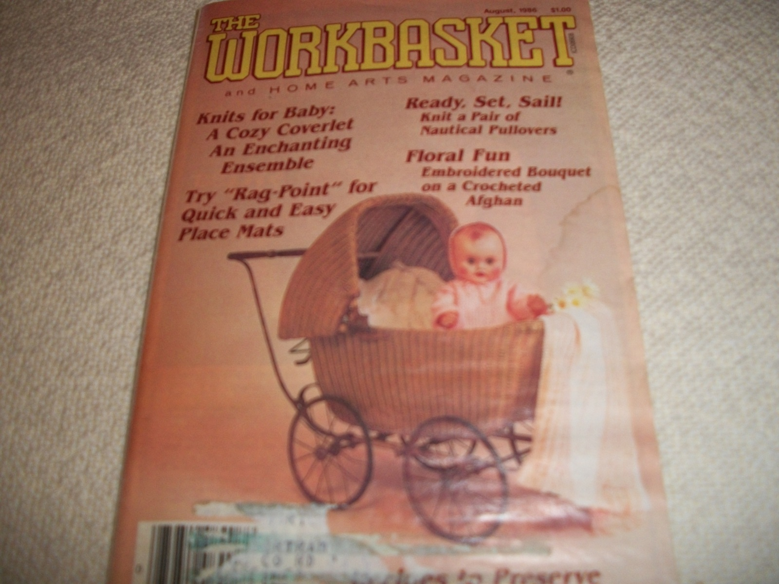 Workbasket Magazine August 1986 and similar items