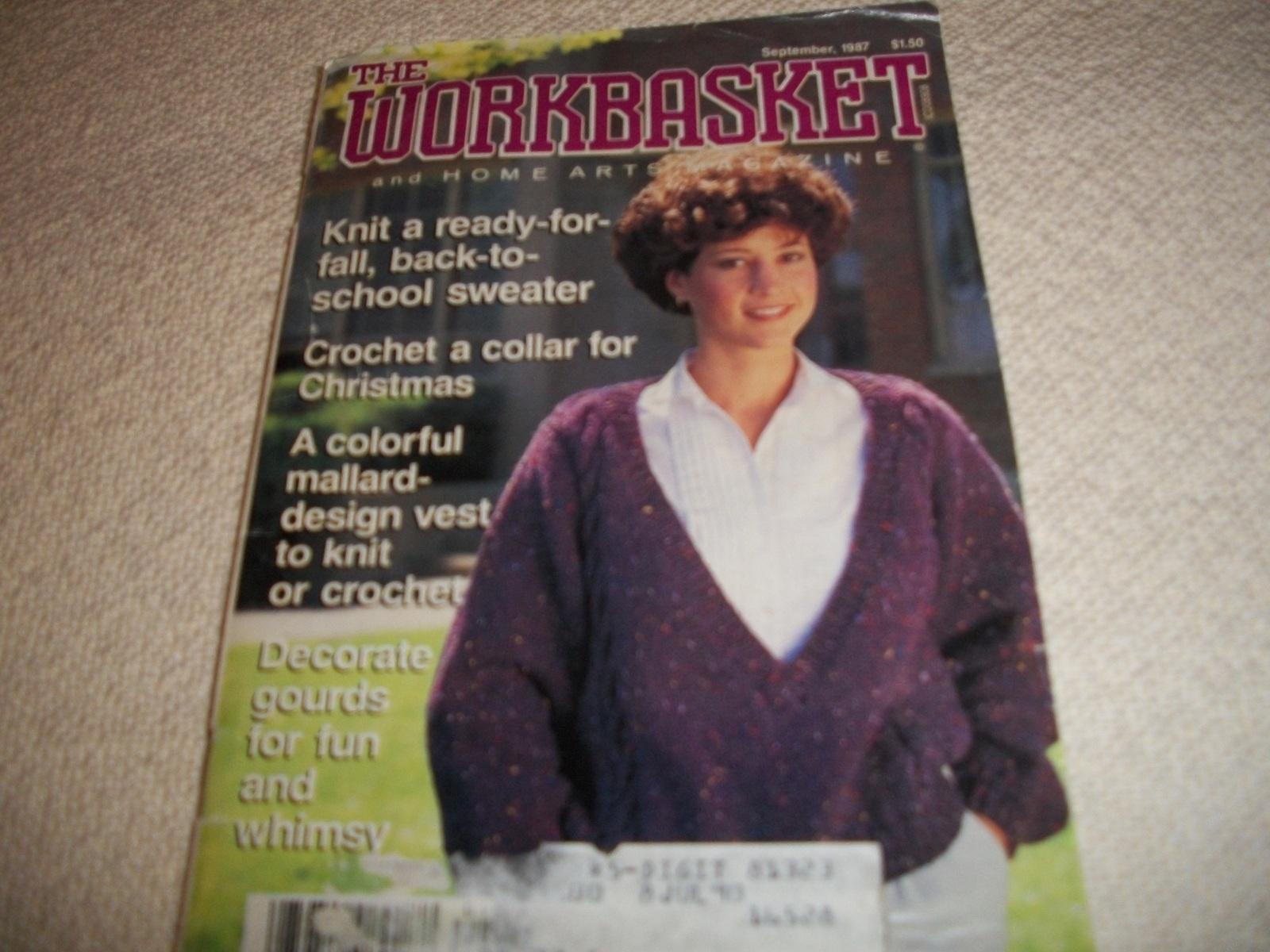 Workbasket Magazine September 1987 and 19 similar items