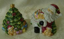 Jolly Santa, Salt and Pepper Shaker Set, Ceramic - $20.00