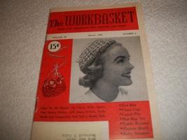 Workbasket Magazine March 1955 - $5.00