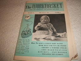 Workbasket Magazine February 1951 - $3.00