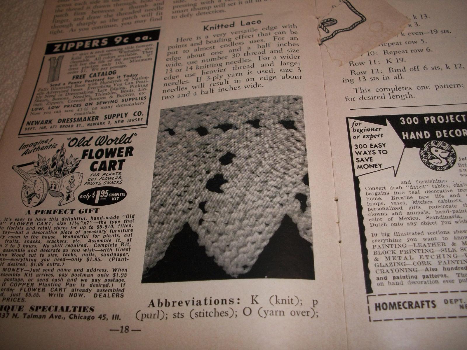 Workbasket Magazine April 1950 and 11 similar items