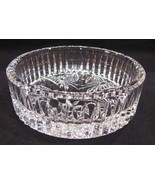 Waterford Crystal Coaster Dish Best Wishes Wine... - $45.00
