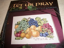 """Let Us Pray"" Cross Stitch Designs - $16.00"