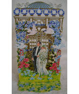 Greeting Card, Wedding Congrats, Reproduction Victorian, B. Shackman - $7.00