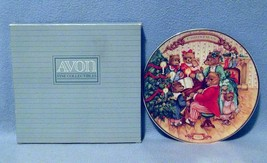 Avon Together for Christmas Collector's Plate 1989 New in Box - $7.99