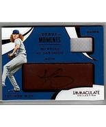 DUSTIN MAY 2020 Panini Immaculate Debut Moments Auto Relic #12/49 Patch - $64.35
