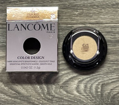 New! Lancome Filigree Shimmer 105 Color Design Smooth Hold Eyeshadow Fast Ship! - $27.98
