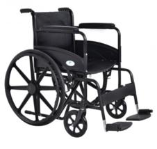 Wheelchair Chair Folding Lightweight Transport Footrest Foot Leg Rest Se... - $179.95