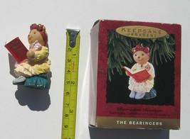 Hallmark Keepsake Bearnadette Bearinger Christmas Ornament Teddy Bear 19... - $3.46