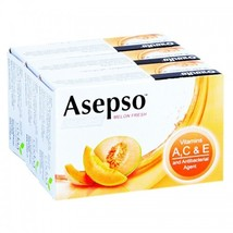 Asepso Soap Melon Fresh 70 G. Pack 3 - $30.00