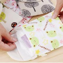 Diaper Napkin Storage Bag Canvas Package Coin Purse Organizer - $15.54