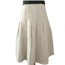 NWT The People`s Skirt 10 Fit & Flare Rockabilly Ivory Lined Wedding Party  - $17.99