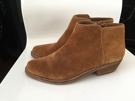 SAM EDELMAN LEATHER UPPER ANKLE BOOTIE EU 39 US 8 M BROWN SOLD OUT - $69.29