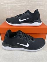 Nike Women's Free RN 2018 Black White Running Shoes 942837-001 Size 8 NEW - $108.87