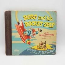 Pinto Colvig Bozo And His Rocket Ship Record Album Set LP - $12.86