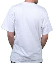 LRG Lifted Research Group Mens White Vampire Attire Dracula Logo T-Shirt NWT image 2