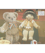 Vogue Craft 9603, Mr  Mrs Bear, 20 inches, Sewing Pattern, Average Sewer... - $11.00