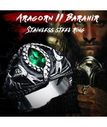 BEIER Aragorn II Barahir snake Stainless Steel One Ring Of Power Men jew... - $12.67