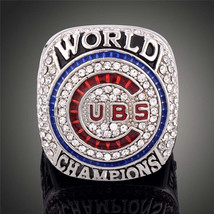 2016 Chicago Cubs World Series Championship Ring Size 8-14 Zobrist Bryan... - $19.99