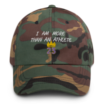 I Am More Than An Athlete Hat / King James / Basketball Dad hat image 8