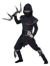 Childrens Ninja Warrior Karate Assassin Halloween Child Costume S-L 00473 - $21.59