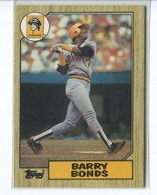 BARRY BONDS RC 1987 Topps #320 (NR-MINT) Pittsburgh Pirates Baseball Spo... - $9.99