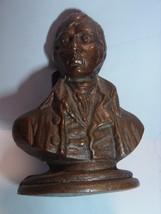 ANTIQUE Victorian Figural  Bronze LETTER HOLDER Wellington / British Reg... - $35.00