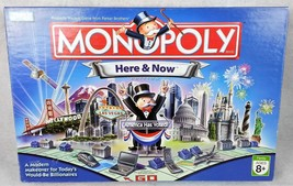 Monopoly Here & Now America Has Voted 2006 RARE DEFECT 8 Tokens 00402 Bo... - $48.50