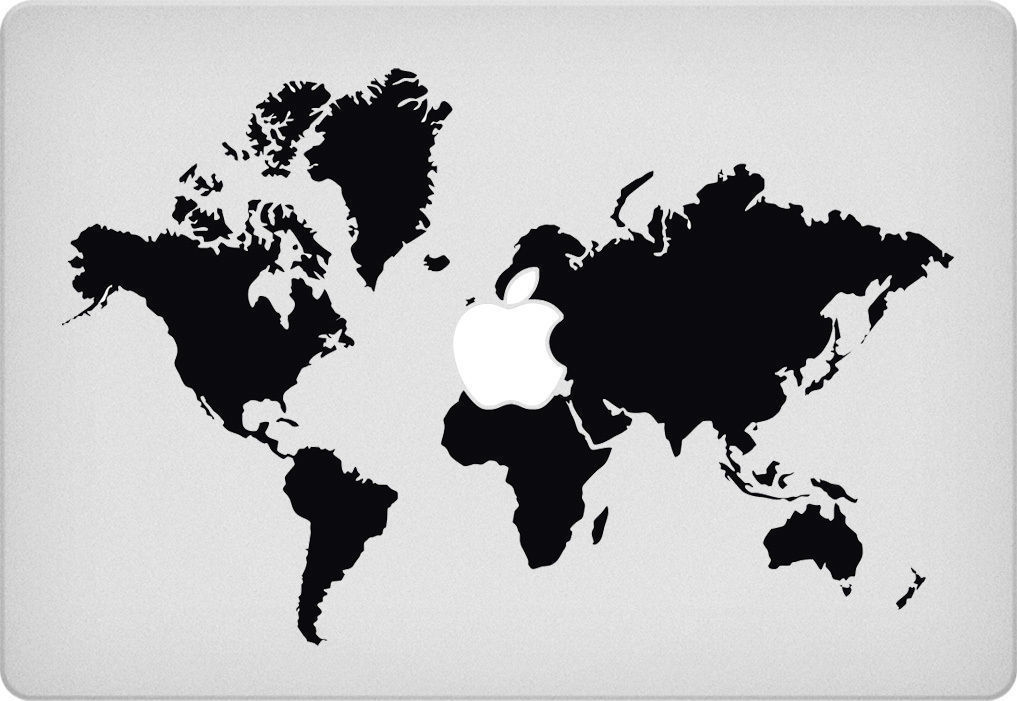 World map macbook decal mac decal macbook and similar items world map macbook decal mac decal macbook pro laptop sticker vinyl decal gumiabroncs Choice Image
