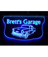 Personalized Garage, Man Cave, Family Name Sign, Custom LED Sign  - $140.00