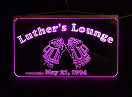 Personalized Pub Bar Sign, LED Multi Color Changing - $140.00