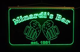 Personalized Bar Sign, Pub Sign, Beer Sign, Wedding Sign LED  Multi Color - $140.00