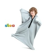 SANHO Dynamic Movement Sensory Body Sock - Updated Version , Silver Small - $33.43