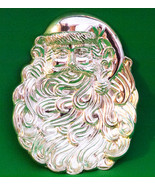 Holiday Sale! Vintage International Silver Company Silverplated Santa Ca... - $4.95
