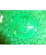 Vtg c.1960's INDIANA Green Pretzel Glass ZODIAC... - $23.71