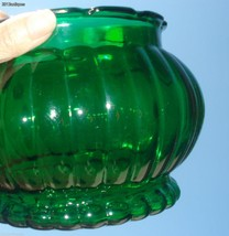 Vtg Anchor Hocking A.L.R. Co.Forest Green Glass... - $14.80