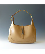 Authentic Gucci Leather Jackie O Hobo Shoulder ... - $275.00