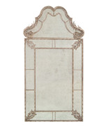 SHABBY FRENCH VINTAGE, Verre Eglomise Wall Mirr... - $3,669.00